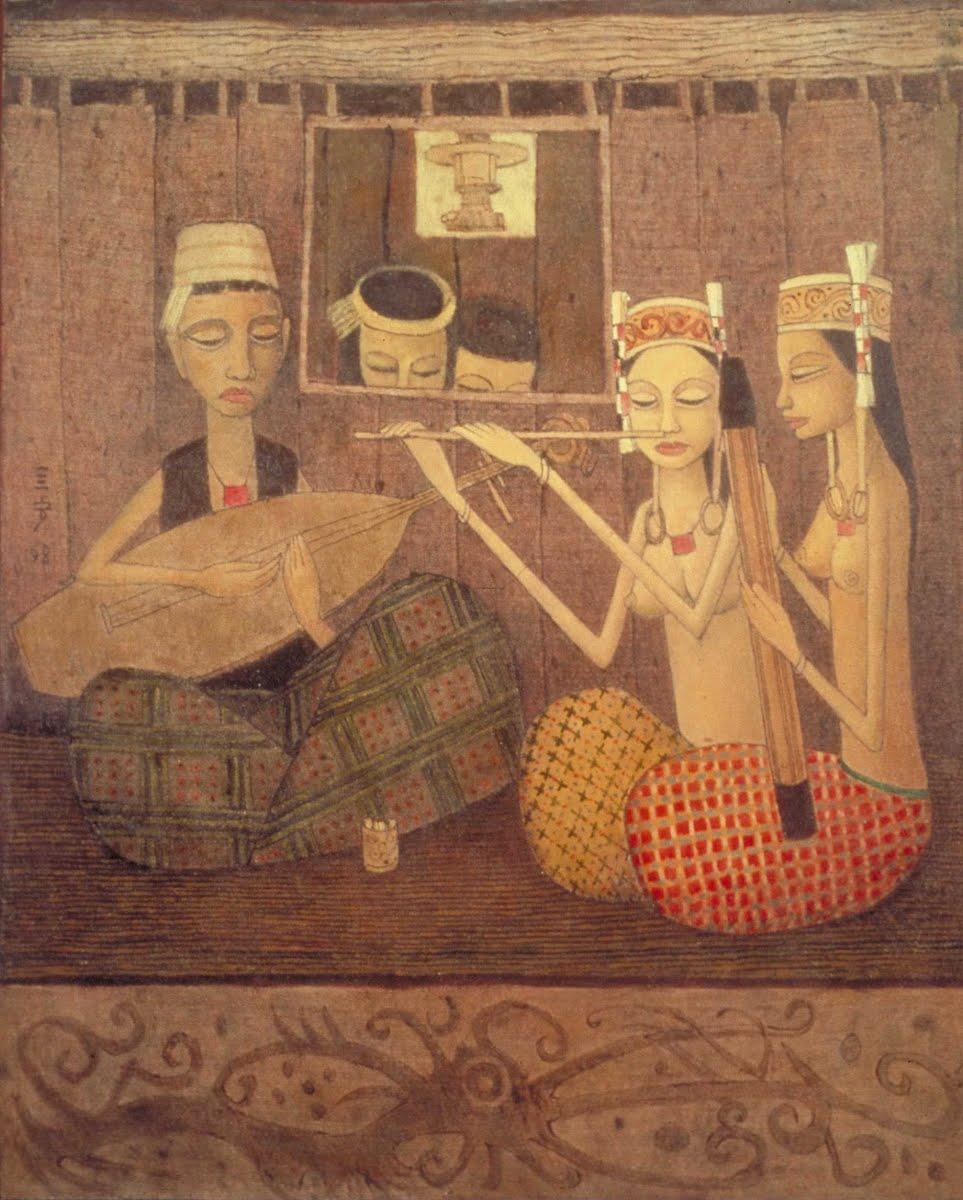 钟泗滨 (Cheong Soo Pieng) 作品